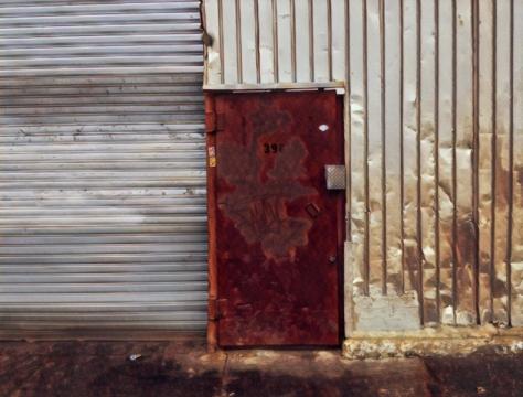 Bushwick red door.jpg